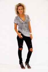 Burnout Loose Fit V